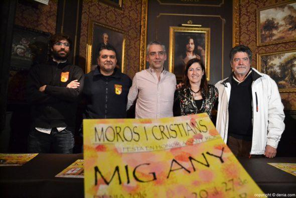 Presentación programación Mig Any Moros y Cristianos Dénia 2016