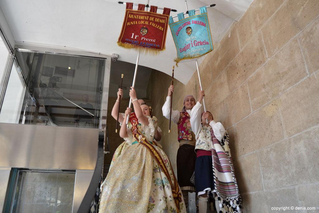 Premis Infantils Falles Dénia 2015 - primer premi primera secció falla Port Rotes