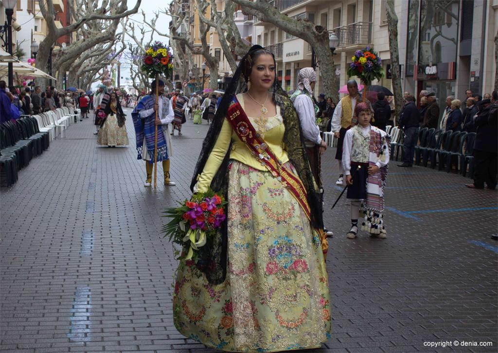 Ofrena Flors Falles Dénia 2015 - Falla Port Rotes