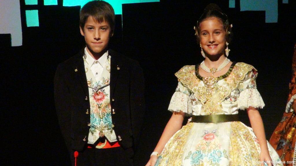 Presentació Infantil Falla Diana 2015 - Inés i Javi