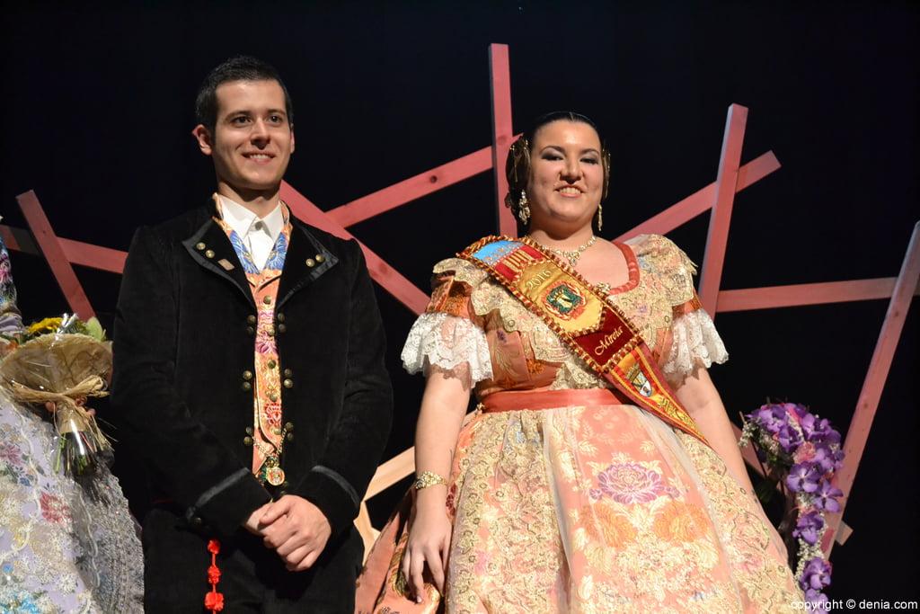 Presentació Falla Diana 2016 - Christian i Mireia