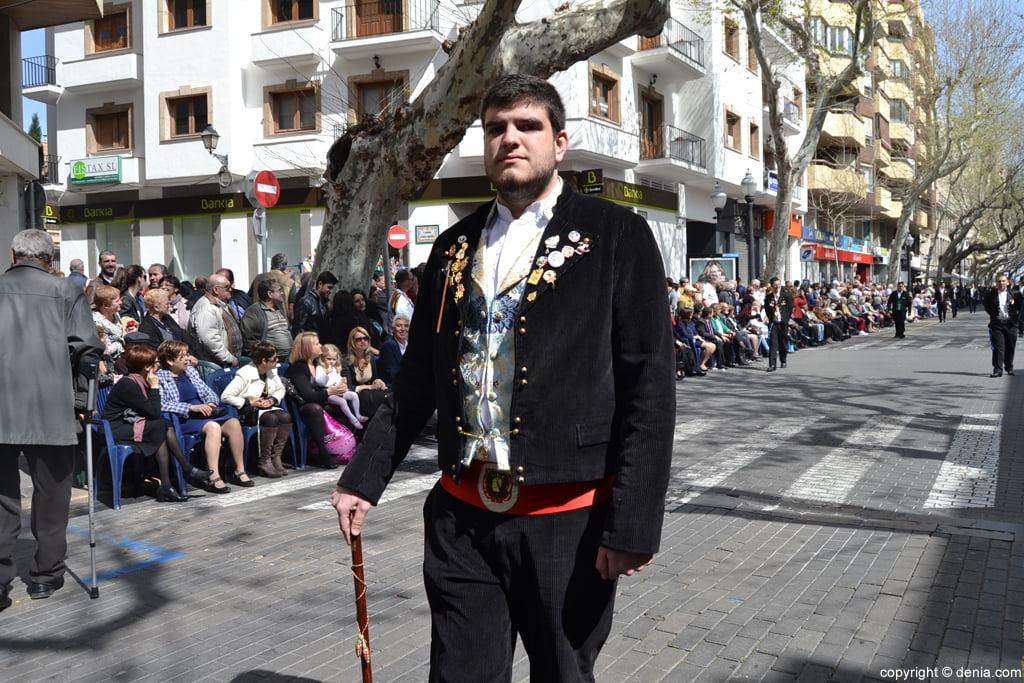 Ofrena de flors Falles de Dénia 2014 - Diana - José Luis Sabater