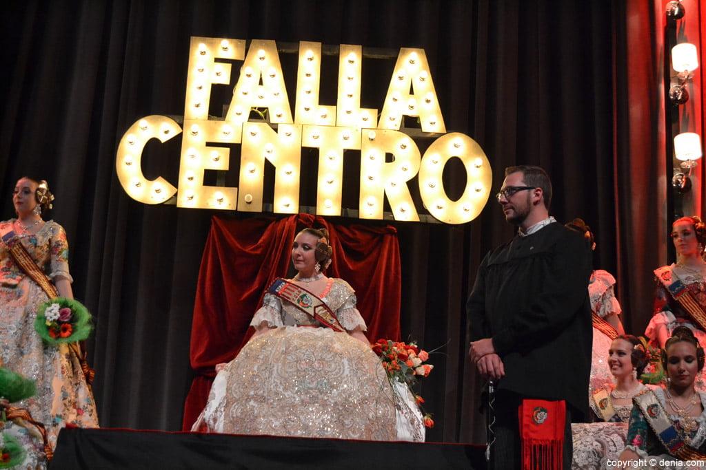 Presentació Falla Centre 2016 - Rocío i David