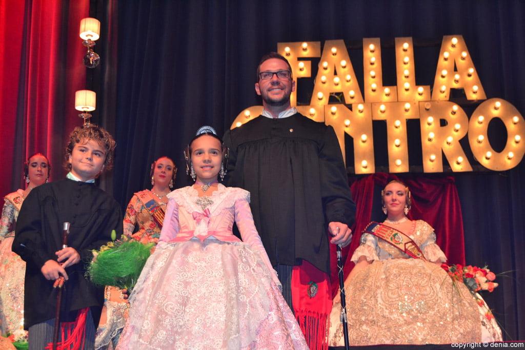 Presentació Falla Centre 2016 - Glòria i Nicolás
