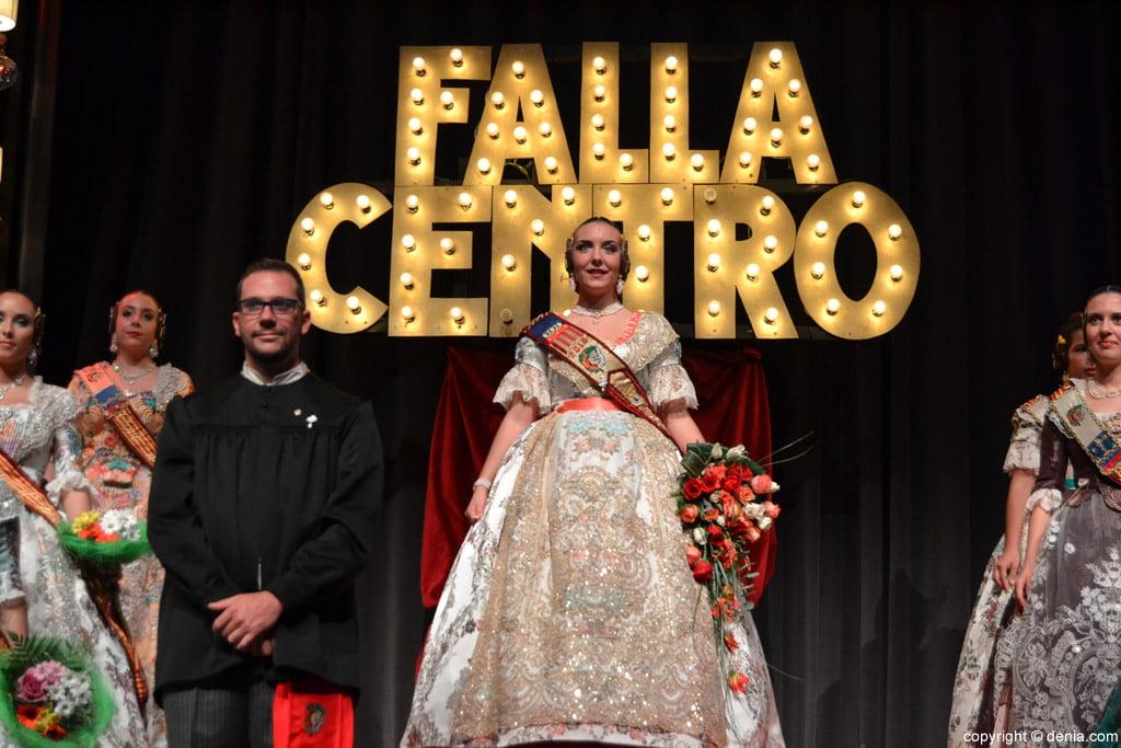 Presentació Falla Centre 2016 - Rocío Pérez i David Ramis