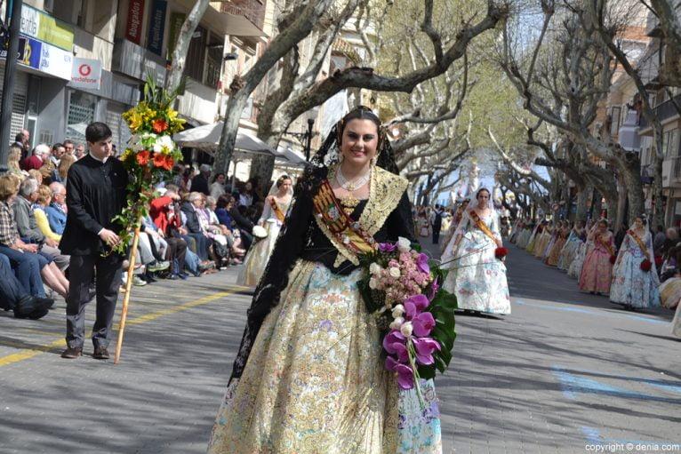 Ofrena de flors Falles de Dénia 2014 - Centre - Marta Carrió
