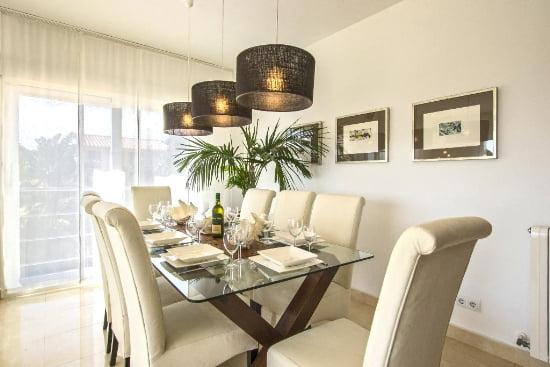 Menjador casa Quality Rent