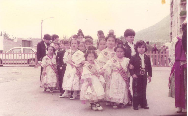 Comissió infantil de la falla Diana 1985