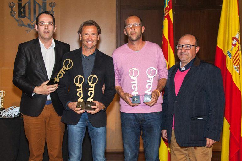 Javier Piles en la Gala del Tenis Valenciano