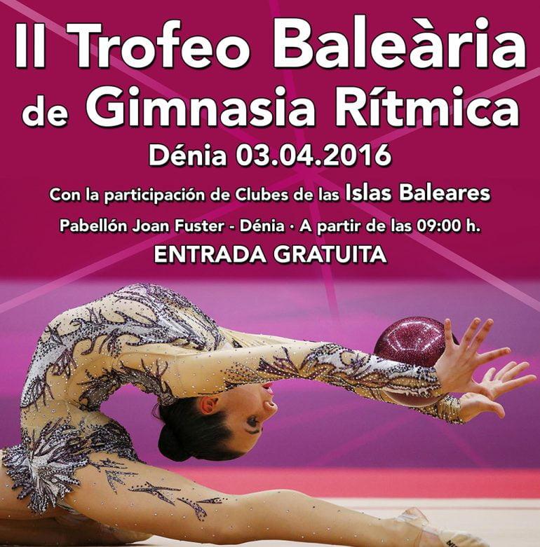 "Plakat des ""II. Balearen-Turniers"""