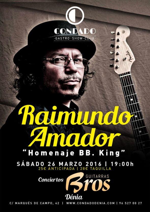 Concierto de Raimundo Amador en Dénia