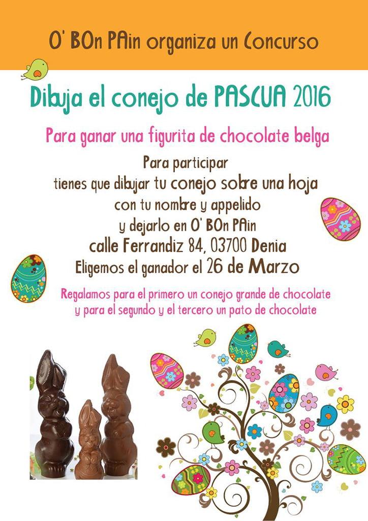Concurso de pascua o 39 bon pain d for Concurso de docencia 2016