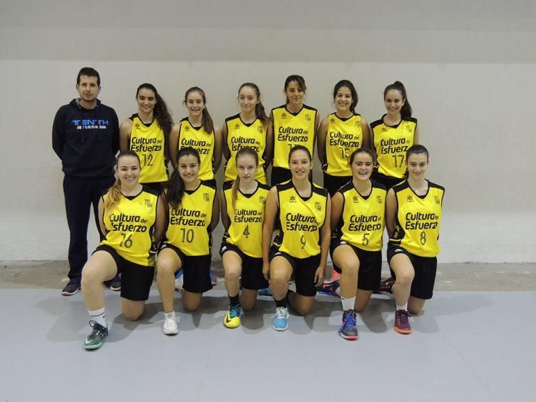 Basketball Female cadet Dénia