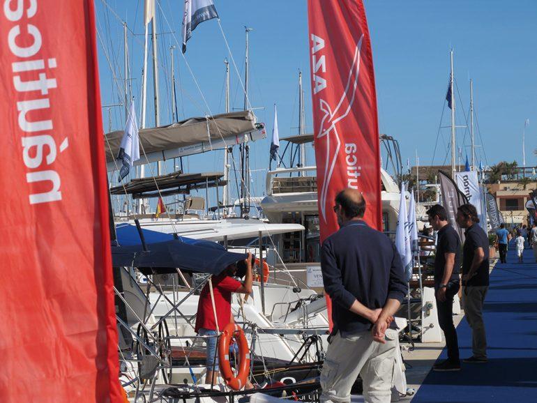 Aussteller auf der Boat Show Dénia
