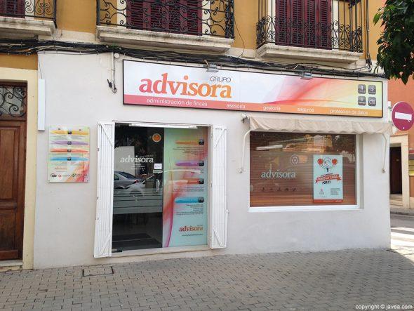 Fachada Grupo Advisora