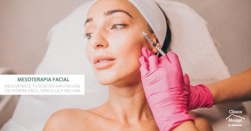Tratamiento de mesoterapia facial, sorteo de Clínica Médica Montgó