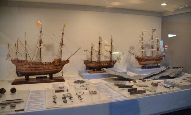 Imagen: Muestra de veleros en el Museo del Mar
