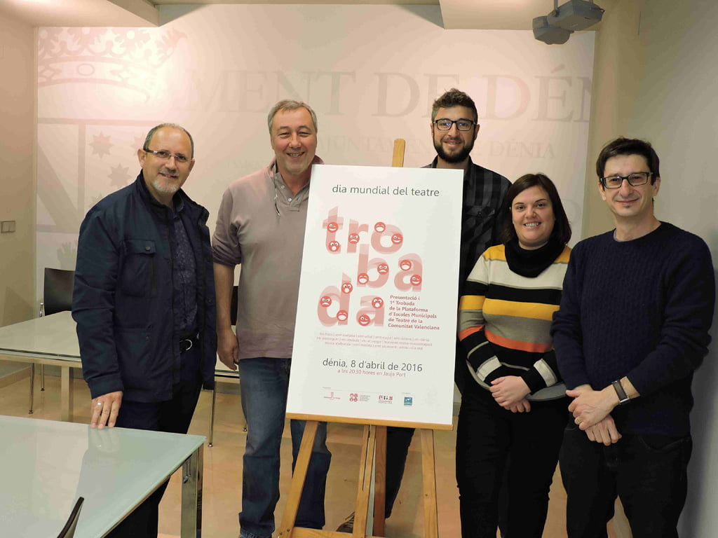 Presentation of the World Theater Day in Dénia
