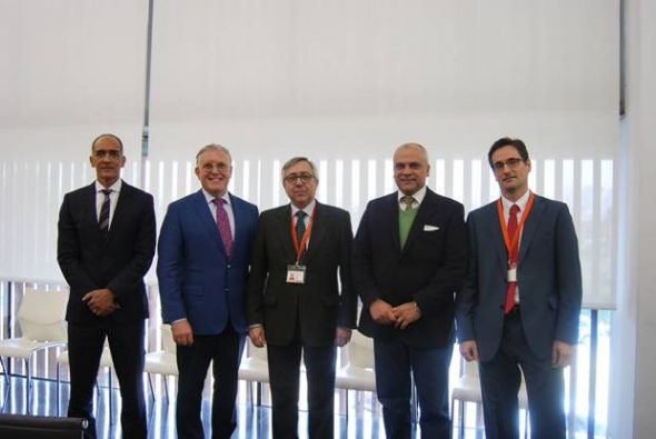Visita de representantes del Ministerio de Sanidad de Brasil