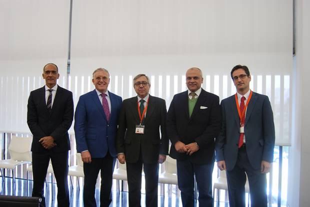 Visita de representants del Ministeri de Sanitat del Brasil