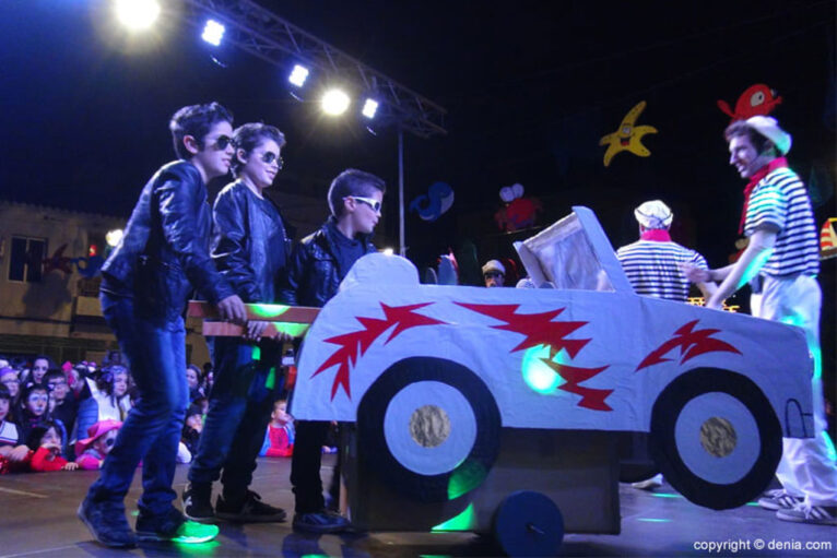 Carnaval infantil Dénia 2016 - Participantes