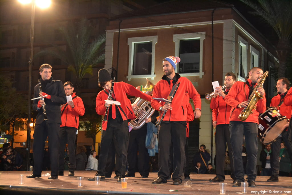 Concierto Bandas Fallas Dénia 2016 – Toca't un ou