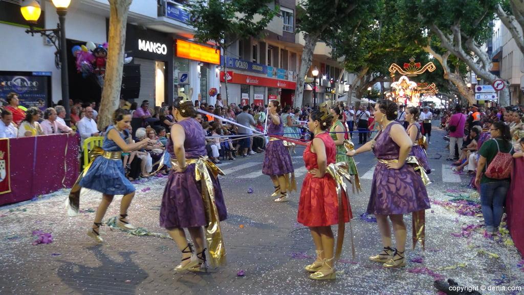 Carrozas Dénia 2015 – Comparsa Falla Saladar