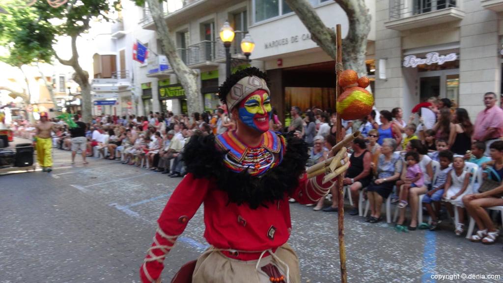 Carrozas Dénia 2015 – Comparsa Baix la Mar