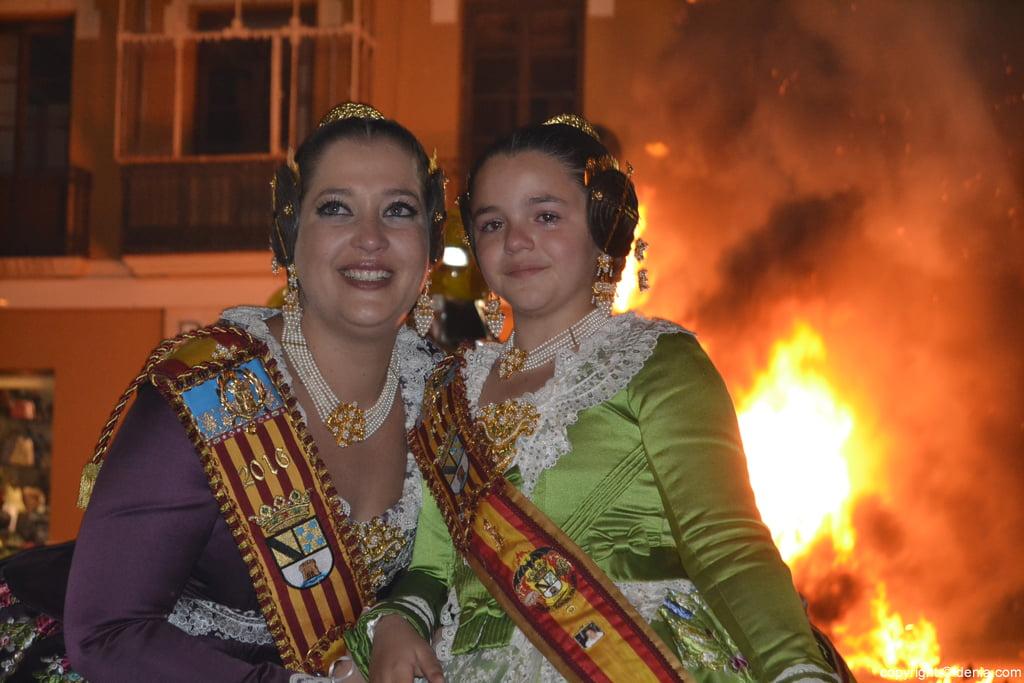 Cremà fallas Dénia 2016 – Marina y Alejandra