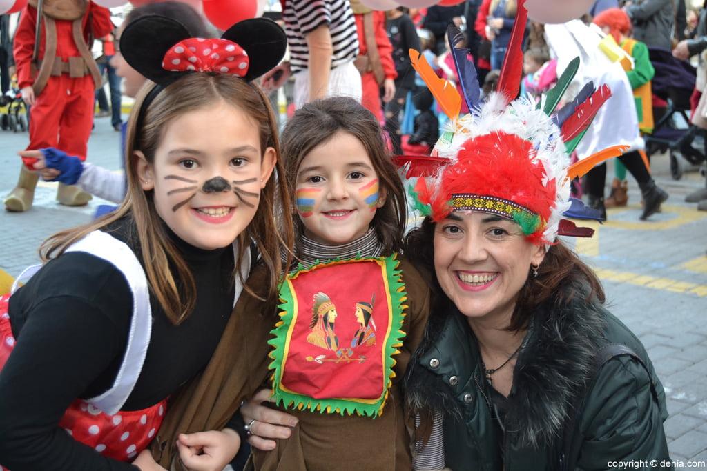 Carnaval infantil Dénia 2016 – Participantes