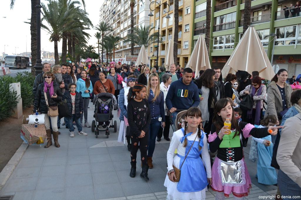 Carnaval infantil Dénia 2016 – Desfile