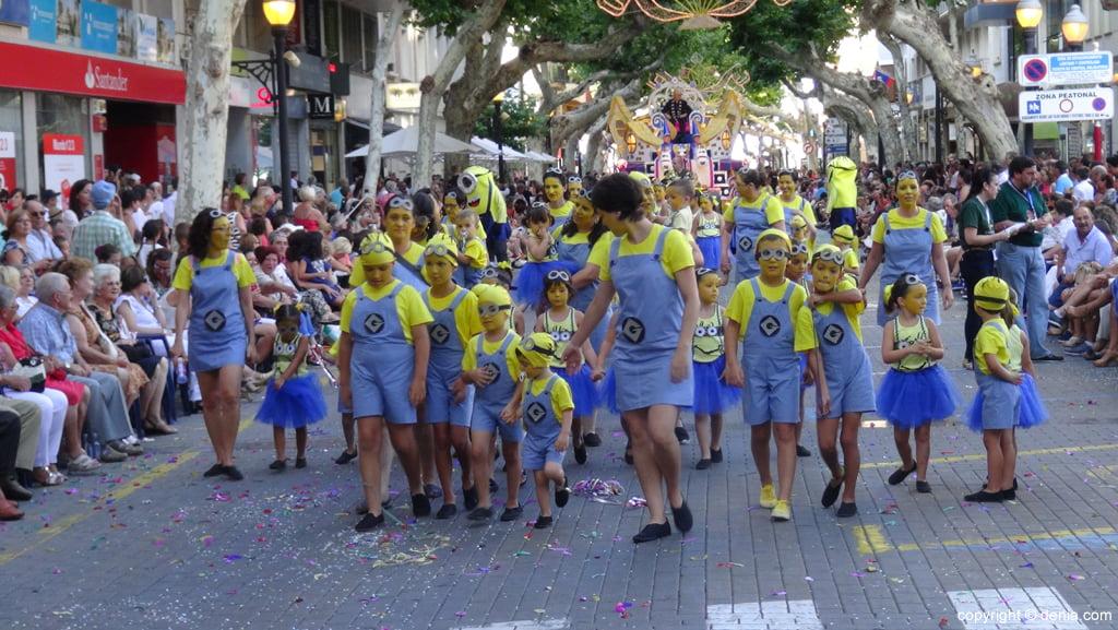 Carrozas Dénia 2015 – Comparsa infantil Oeste