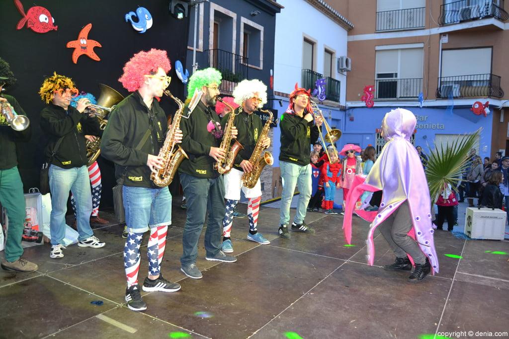Carnaval infantil Dénia 2016 – Cachorras Band