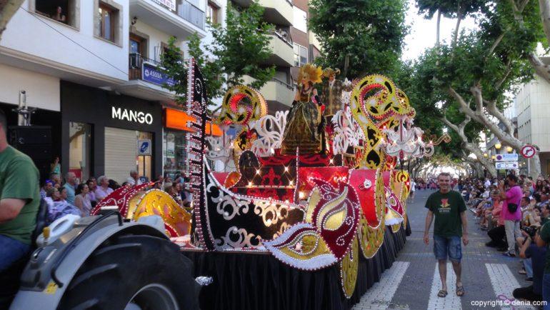 Carrozas Dénia 2015 - Carroza Falla Oeste