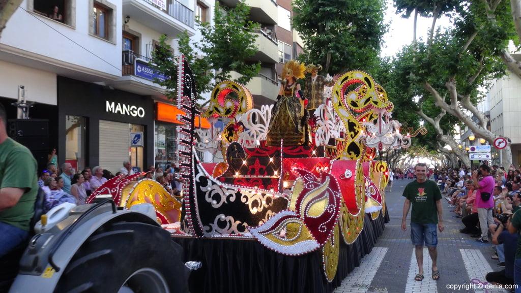 Carrozas Dénia 2015 – Carroza Falla Oeste