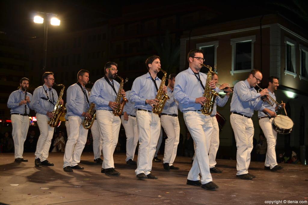 Concierto Bandas Fallas Dénia 2016 - Cachorras Band