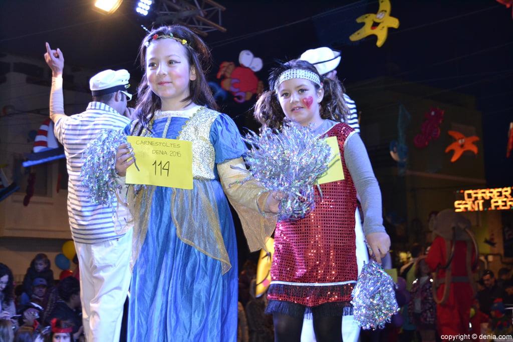 Carnaval infantil Dénia 2016 – Desfile de participantes