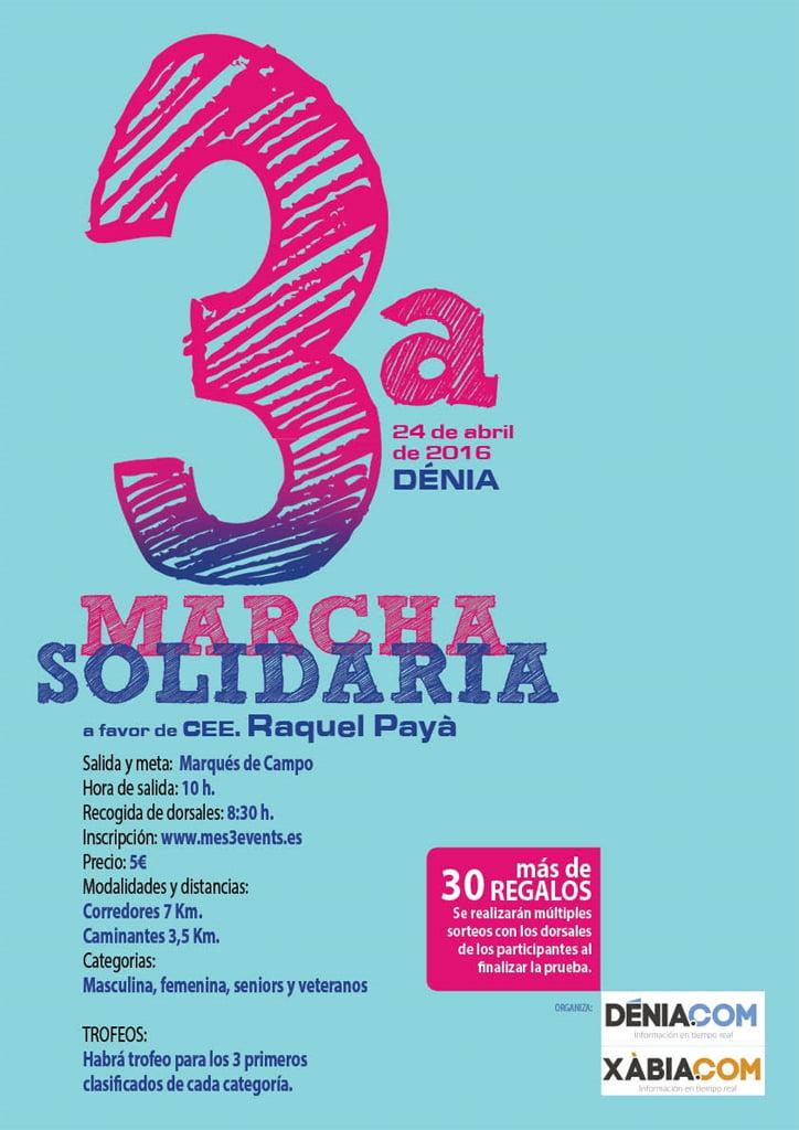3º Marcha Solidaria a Favor del CEE Raquel Payà