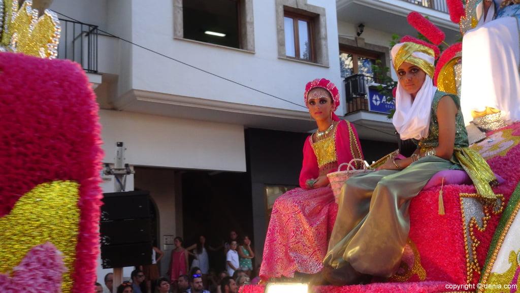 Carrozas Dénia 2015 – Carroza Darrere del Castell