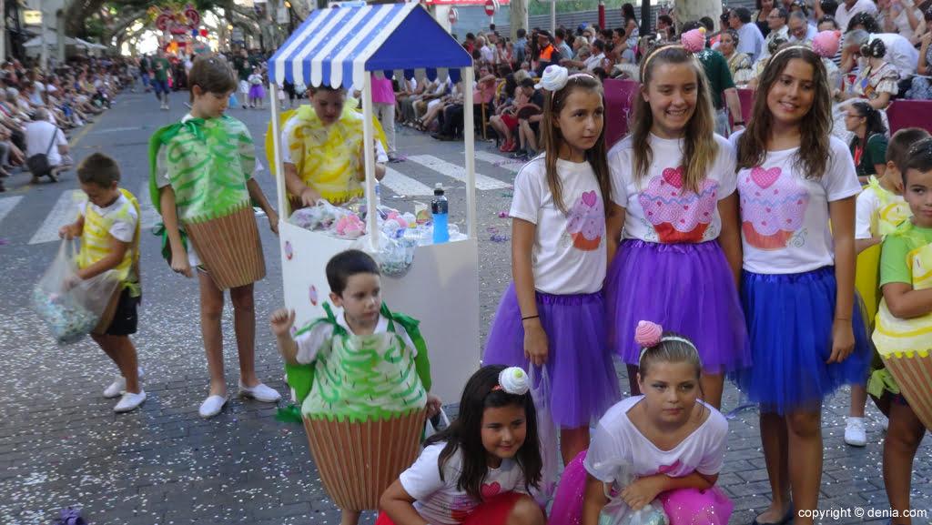 Carrozas Dénia 2015 – Comparsa infantil Les Roques