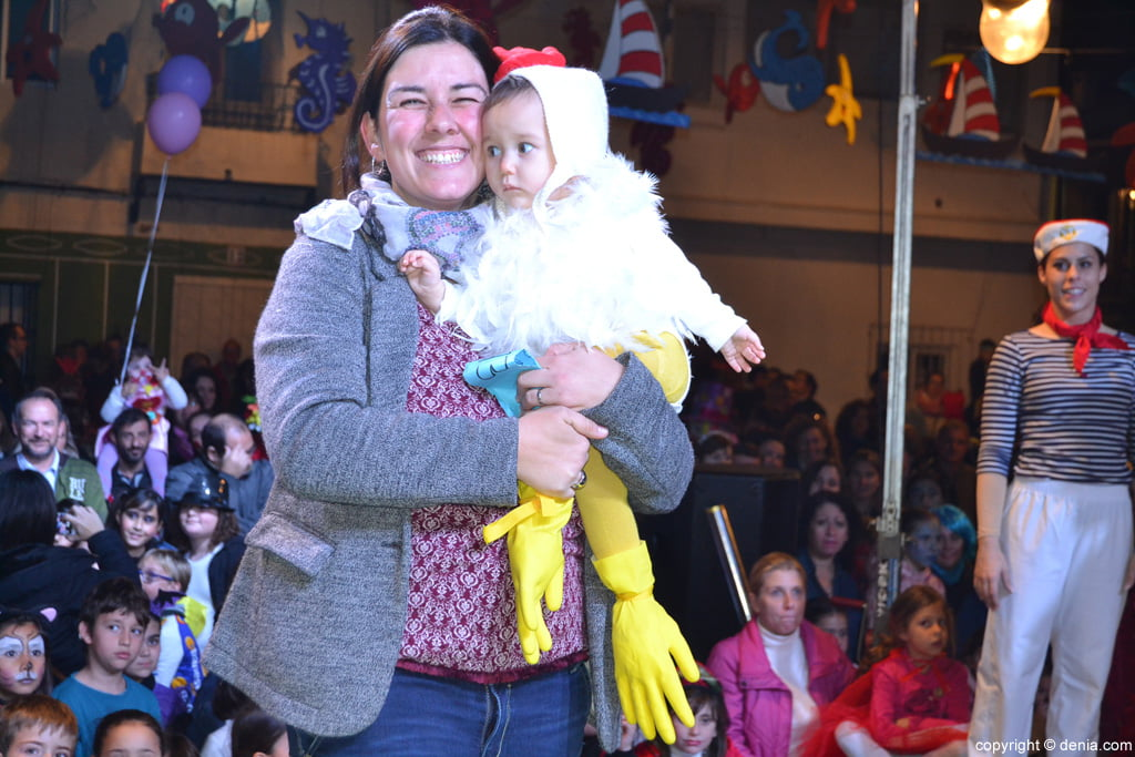 Carnaval infantil Dénia 2016 – 3º Premio Categoría Mini