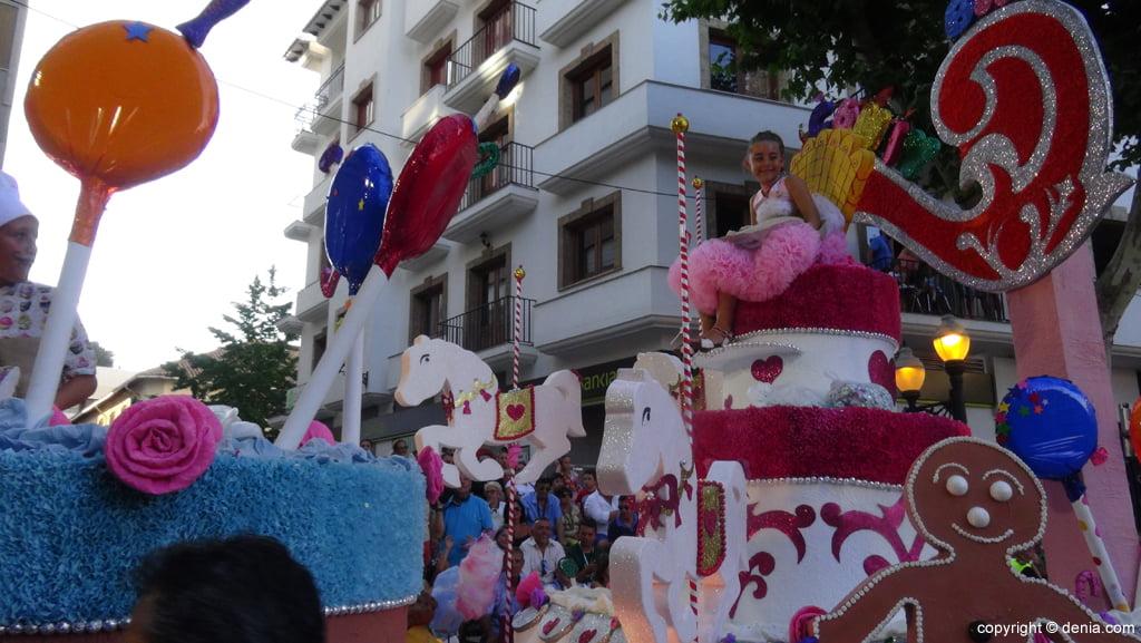 Carrozas Dénia 2015 – Carroza infantil Les Roques