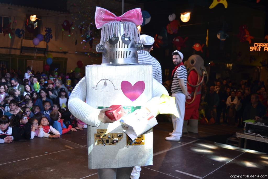 Carnaval infantil Dénia 2016 – 2º Premio categoría infantil