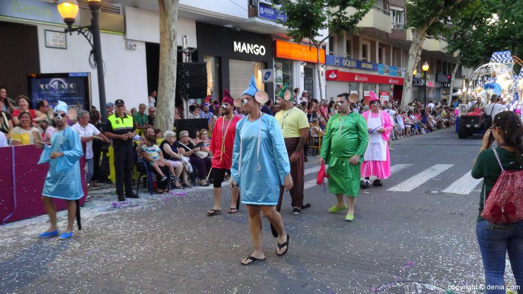 Carrozas Dénia 2015 – Comparsa Les Roques