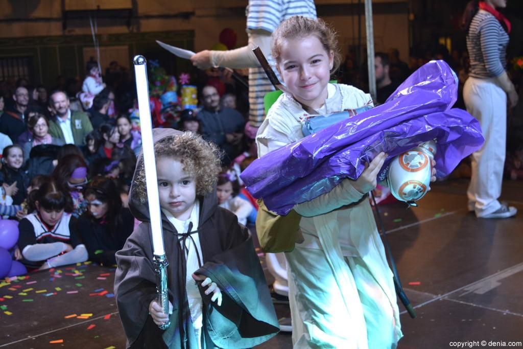 Carnaval infantil Dénia 2016 – 3º Premio Categoría Dúo