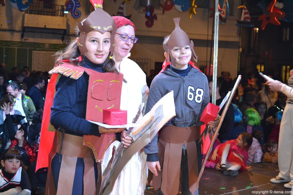 Carnaval infantil Dénia 2016 – 2º Premio Categoría Dúo