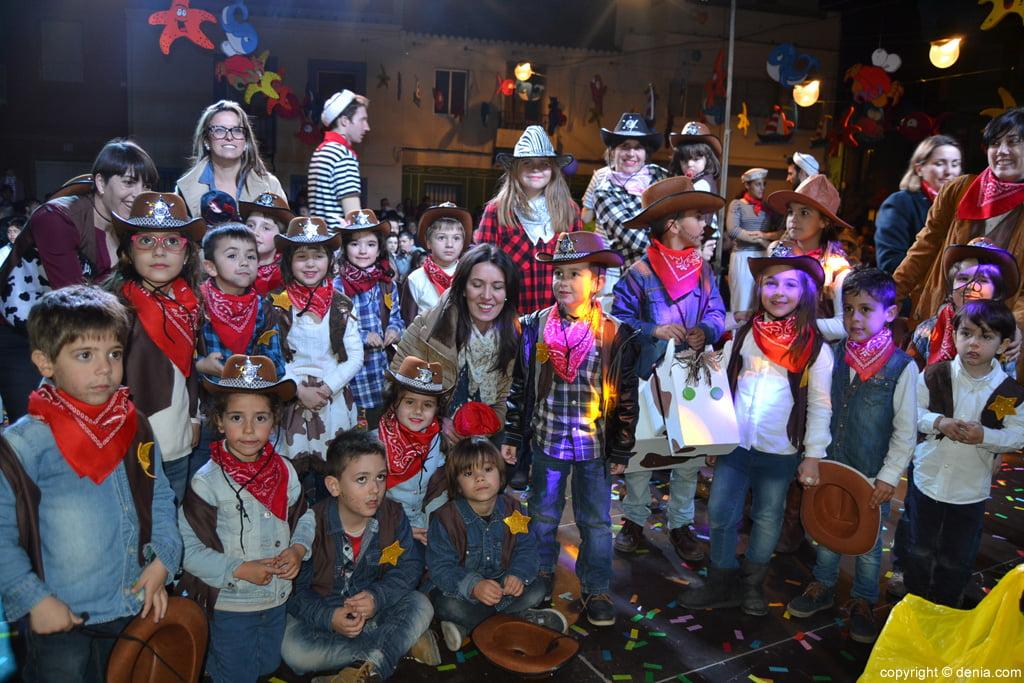 Carnaval infantil Dénia 2016 – 3º Premio Comparsa