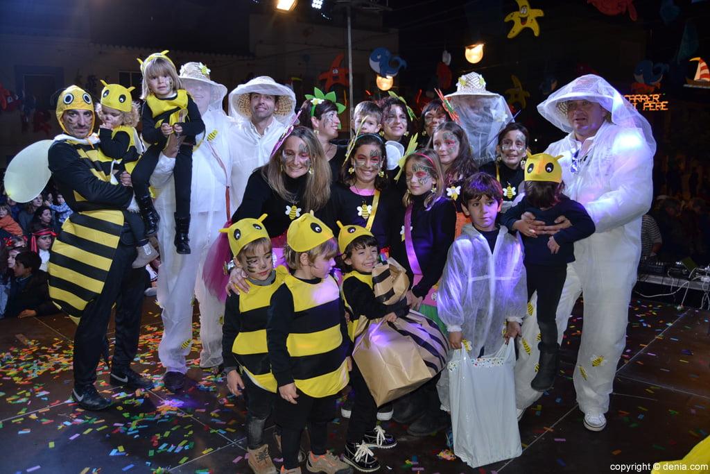 Carnaval infantil Dénia 2016 – 2º Premio Comparsa