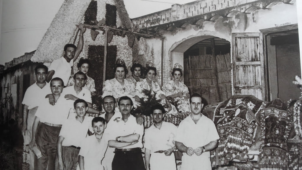 Carroza Falla Les Roques – Año 1956