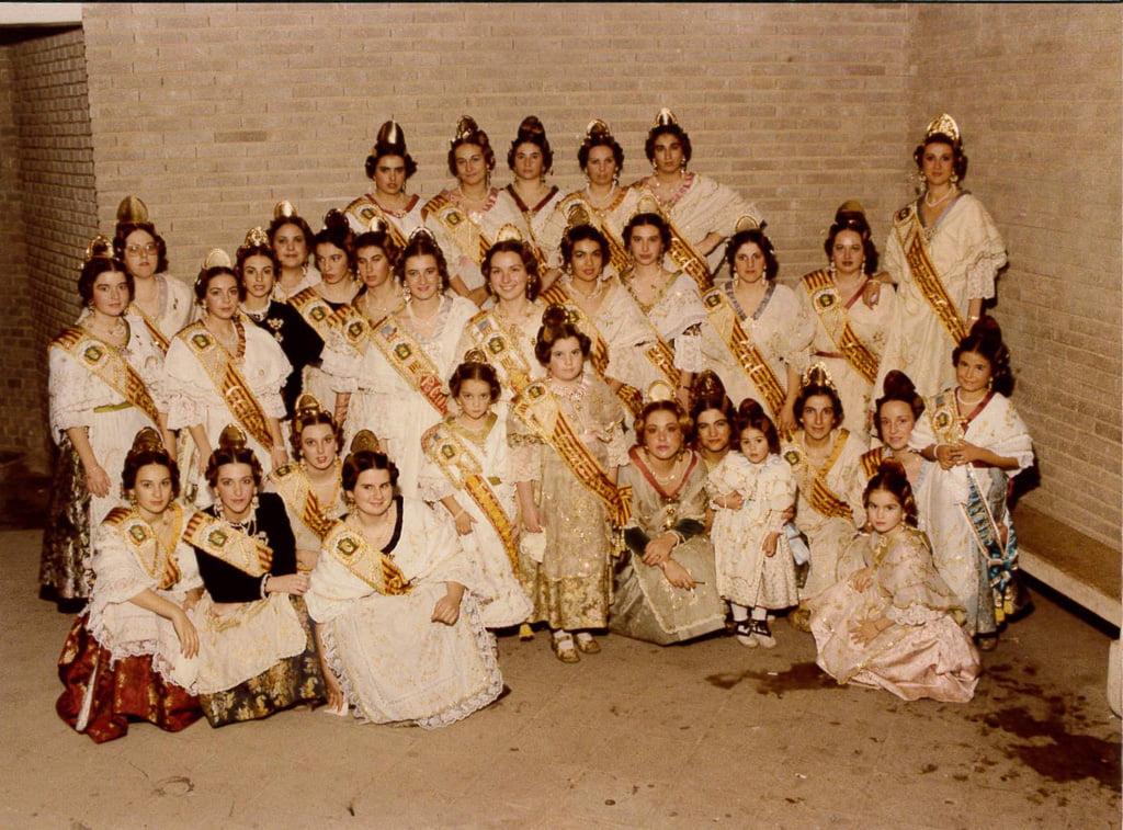 Comisión Les Roques del año 1985